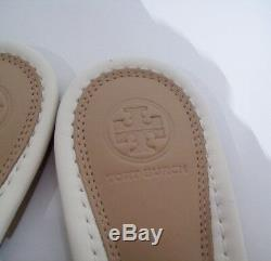 Tory Burch Miller Fringe Logo Sandals Thong Light Makeup 7 New W Box FREE SHIP