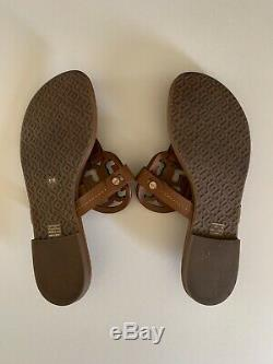 Tory Burch Miller Leather Thong Sandal Flats Womens Size 5 1/2