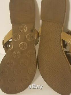 Tory Burch Miller Logo Flat Sandal Size 7