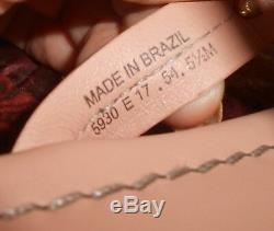 Tory Burch Miller Logo Leather Makeup Pink Size 5 1/2