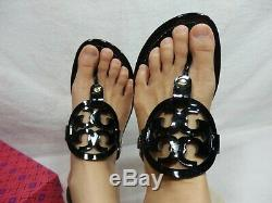 Tory Burch Miller Sandal 10 M w Box
