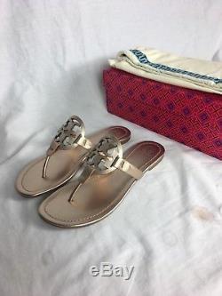 Tory Burch Miller Sandal Size 11 Rose Gold
