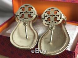 Tory Burch Miller Sandal Size 7 Spark Gold