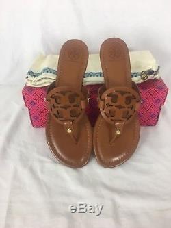 Tory Burch Miller Sandal Size 8.5 Vintage Vachetta