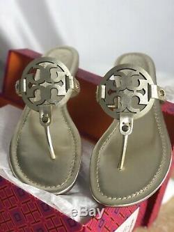 Tory Burch Miller Sandal Size 8 Spark Gold