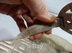 Tory Burch Miller Sandal size 7.5 M Spark Gold