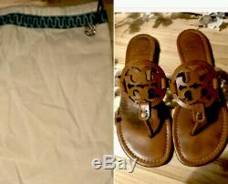 Tory Burch Miller Sandals In Vachetta Tan 9-1/2 Includes Original Dust Bag