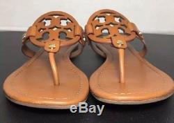 dbc6ad3468bb2a Tory Burch Miller Vintage Vachetta Leather Flip Flop Sandals Size 8m