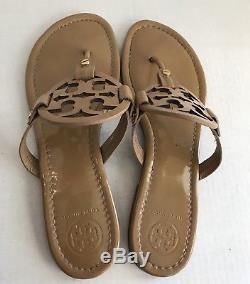 Tory Burch Nude Miller Sandals Flip Flop Size 10.5