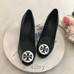 Tory Burch Peep Toe Wedged Shoes Size 12M
