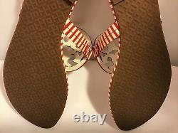 Tory Burch Shoes with Box & Dust bag Size 9M Sandals Nautical Red