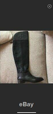 Tory Burch Simone Over The Knee Boots 7.5