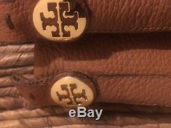 Tory Burch Stitched Boots Caramel 8.5 Size 8 1/2
