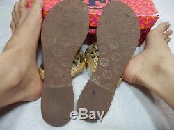 Tory Burch Tumbled Miller Sandal 8 M