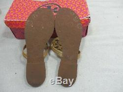 Tory Burch Tumbled Miller Sandal size 8.5 M