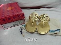 Tory Burch Tumbled Miller Sandal size 9 M w Box