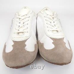 Tory Burch Vintage Double T Trainer Sneaker Women Shoes Size 8.5 AL7305