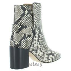 Tory Burch Womens Kira Black-Ivory Dress Boots Shoes 8.5 Medium (B, M) BHFO 8345