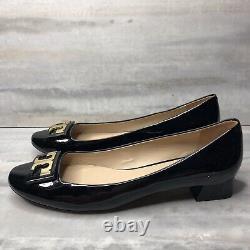 Tory Burch shoes black Gigi Pump Shoes soft patent Leather 10.5