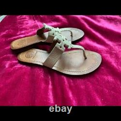 Tory Burch shoes flat/slide/ thong/sandal size 6
