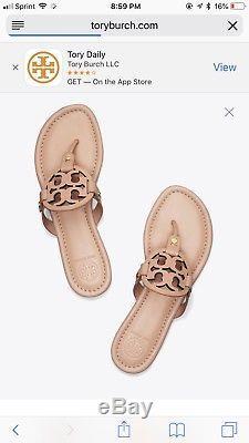 Tory burch Miller Sandal 10.5